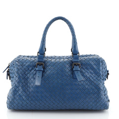 Bottega Veneta New Boston Bag Intrecciato Nappa Medium