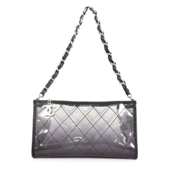 Chanel Naked Chain Pochette Quilted PVC