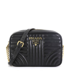Prada Camera Bag Diagramme Quilted Leather Small