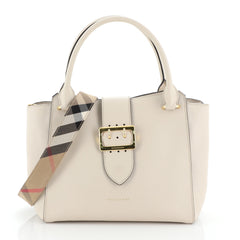 Burberry Buckle Tote Leather Medium