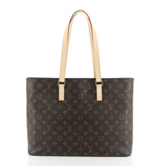 Louis Vuitton Luco Handbag Monogram Canvas