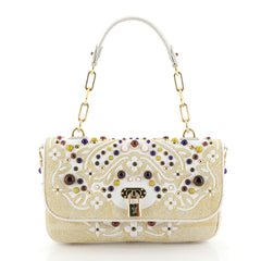 Louis Vuitton Les Extraodinaires Tupelo Handbag Embellished Mixed Media PM