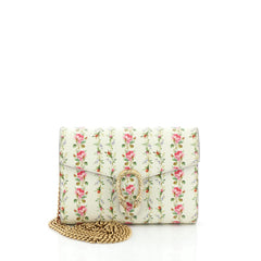 Gucci Dionysus Chain Wallet Printed Leather Small