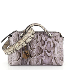 Fendi By The Way Satchel Python Small