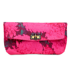 Lanvin Happy Clutch Canvas