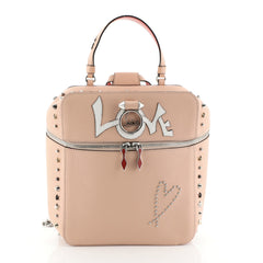 Christian Louboutin Rubylou Love Backpack Leather