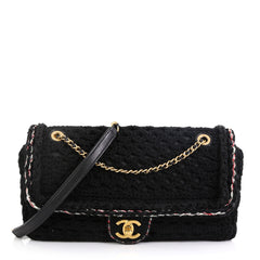 Chanel Cayo Coco Flap Bag Crochet Medium