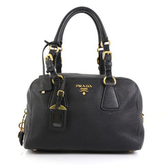Prada Bauletto Bag Vitello Daino Medium
