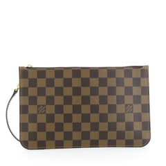 Louis Vuitton Neverfull Pochette Damier Large