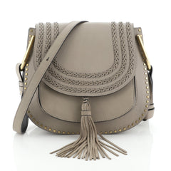 Chloe Hudson Handbag Whipstitch Leather Medium
