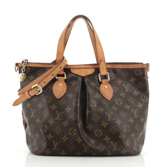 Louis Vuitton Palermo Handbag Monogram Canvas PM