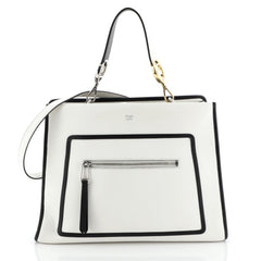 Fendi Runaway Handbag Leather Regular