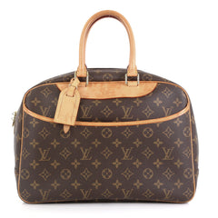 Louis Vuitton Deauville Handbag Monogram Canvas