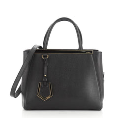 Fendi 2Jours Bag Leather Petite