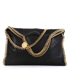 Stella McCartney Falabella Fold Over Bag Shaggy Deer