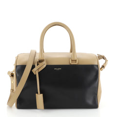 Saint Laurent Classic Duffle Bag Leather 6