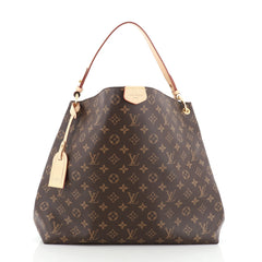 Louis Vuitton Graceful Handbag Monogram Canvas MM