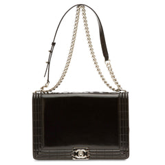 Chanel Boy Bag Glazed Calfskin Large