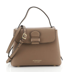 Burberry Camberley Top Handle Bag Leather Small