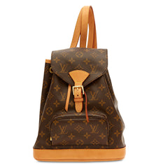 Louis Vuitton Backpack Montsouris Monogram Canvas MM