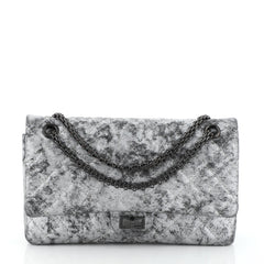 Chanel Reissue 2.55 Flap Bag Metallic Quilted Caviar 226