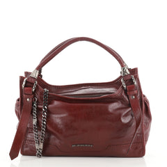 Burberry Ashmore Tote Leather Large