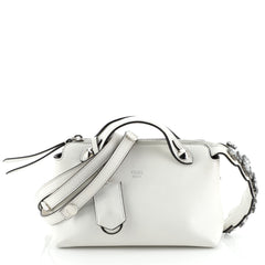 Fendi By The Way Satchel Leather with Crystals Mini