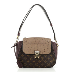 Louis Vuitton Majestueux Shoulder Bag Monogram Canvas and Exotics