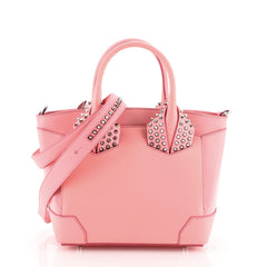Christian Louboutin Eloise Satchel Spiked Leather Small