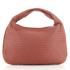 Bottega Veneta Veneta Hobo Embossed Intrecciato Nappa Large