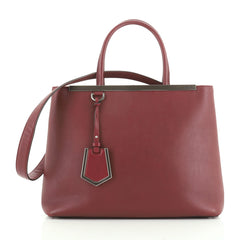 Fendi 2Jours Bag Leather Medium