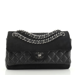 Chanel Miss Pony Double Flap Bag Quilted Aged Calfskin and Pony Hair Medium
