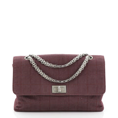 Chanel Chocolate Bar Reissue Flap Bag Quilted Denim