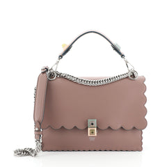 Fendi Kan I Bag Leather Medium