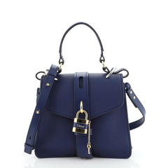 Chloe Aby Top Handle Bag Leather Small