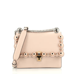 Fendi Kan I Bag Studded Leather Small