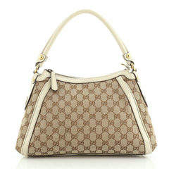 Gucci Scarlett Hobo GG Canvas Small