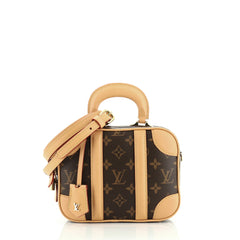 Louis Vuitton Valisette Handbag Monogram Canvas BB
