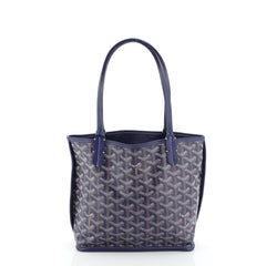 Goyard Anjou Reversible Tote Coated Canvas Mini