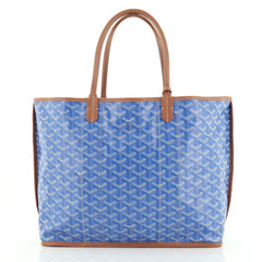 Goyard St. Louis Pertuis Tote Coated Canvas PM