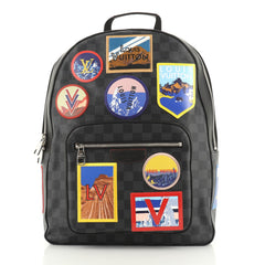 Josh Backpack Alps Patches Damier Graphite