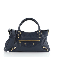 Balenciaga First Giant Studs Bag Leather