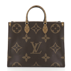 Louis Vuitton OnTheGo Tote Limited Edition Reverse Monogram Giant