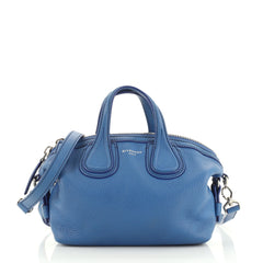 Givenchy Nightingale Satchel Waxed Leather Mini