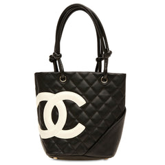 Chanel Cambon Quilted Calfskin Bucket Small