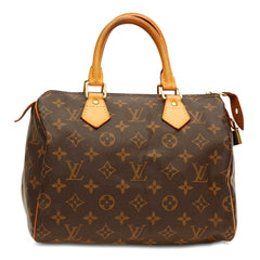Louis Vuitton Speedy Monogram Canvas 25