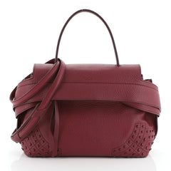 Tod's Studded Wave Bag Leather Small