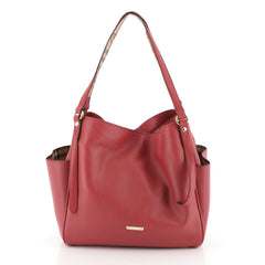 Burberry Canterbury Tote Leather Small