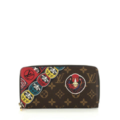 Zippy Wallet Limited Edition Kabuki Monogram Canvas