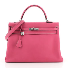 Candy Kelly Handbag Epsom 35